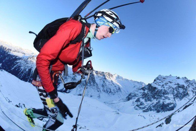 Klettersteig in Gargellen
