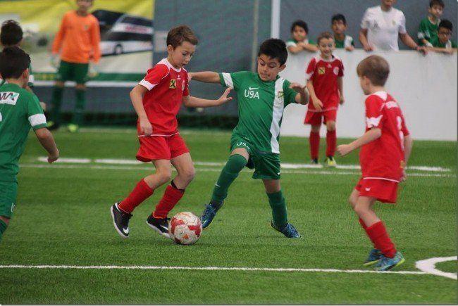 FC Dornbirn gewann das U-9-Turnier in Hard