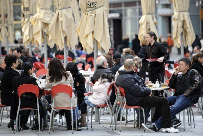 Sperren bald die ersten Winter-Schanigärten in Wien auf?