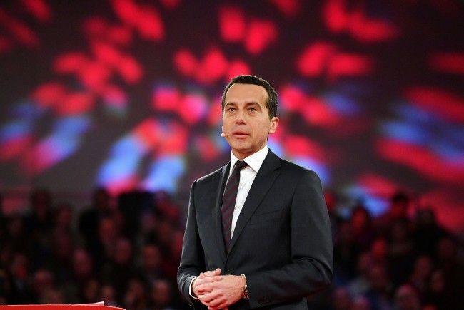 SP-Chef Kern fordert in Grundsatzrede einen Mindestlohn von 1.500 Euro Brutto