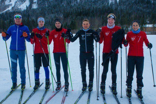 Ländle-Triathleten auf Skier unterwegs
