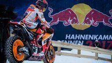 MotoGP-Weltmeister brettert über den Schnee