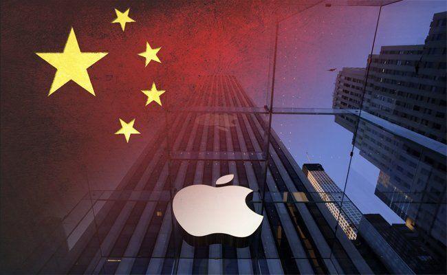 """Apple kickt gegen die Zensur aus Peking ein und nimmt die App der """"New York Times"""" in China aus dem App-Store."""