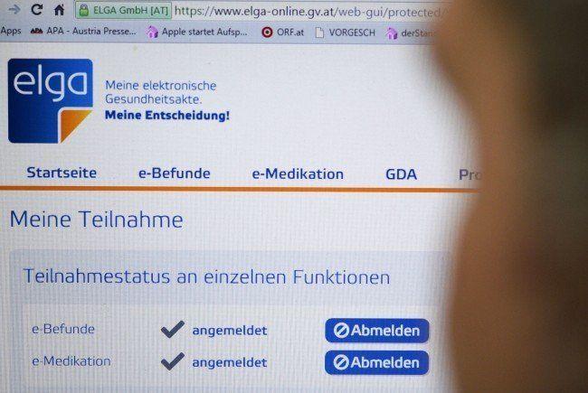 Die Elektronische Gesundheitsakte (ELGA) ist nicht unumstritten