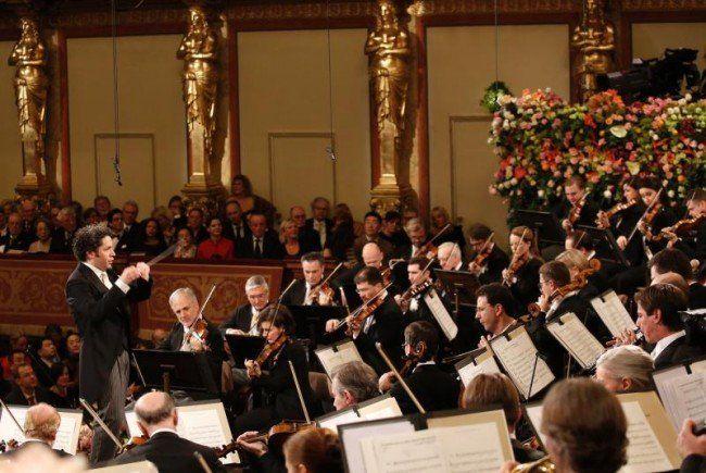 Verdienter Applaus für Dudamel und die Philharmoniker.