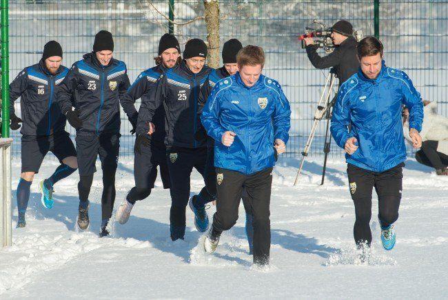 Der SCR Altach startet mit neuem Trainergespann und ohne Dimitri Oberlin in die Vorbereitung.