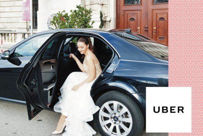 Aktion zur Ballsaison von Uber und VIENNA.at