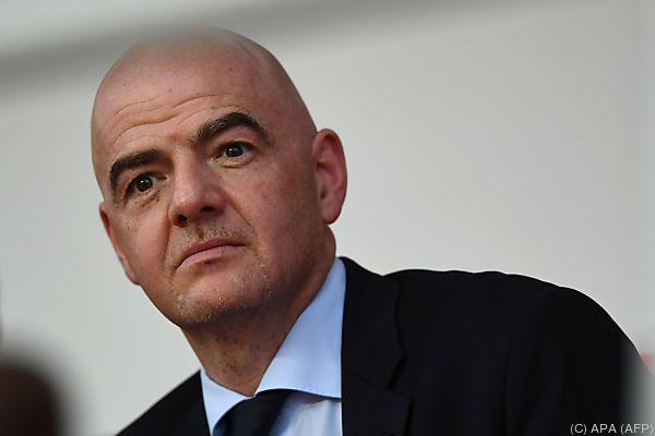 Infantino will gemeinsame Bewerbungen für die WM