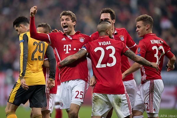 Nach der Gala gegen Arsenal soll ein Sieg in der Bundesliga her