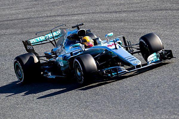 Tagesbestzeit für Vizeweltmeister Lewis Hamilton