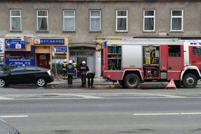 Beim Einsatz in der Praterstraße