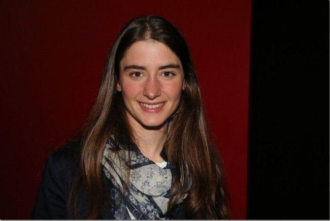 Jasmin Berchtold bei der Präsentation des Sportjahrbuch 2016