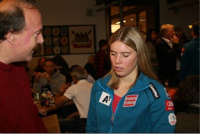 Die Göfnerin Katharina Liensberger hat ein WM Ticket in der Tasche