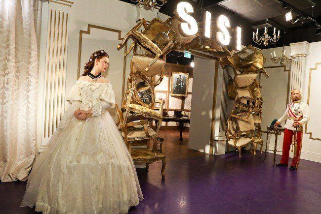 Ein neuer Bereich im Wiener Madame Tussauds widmet sich Kaiserin Elisabeth.