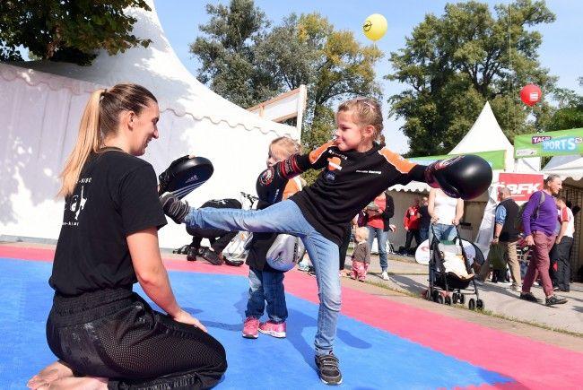 Auch 2017 findet der Tag des Sports im Wiener Prater statt.