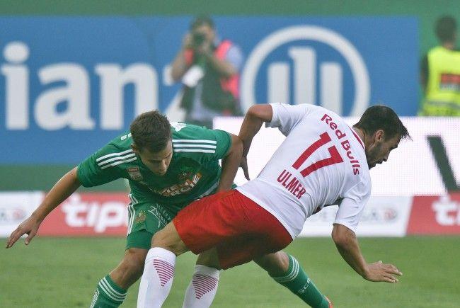 Rapid empfängt Salzburg am Sonntagnachmittag.