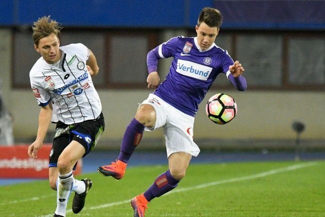 Hier wird das Bundesligamatch zwischen Sturm Graz und Austria Wien übertragen.