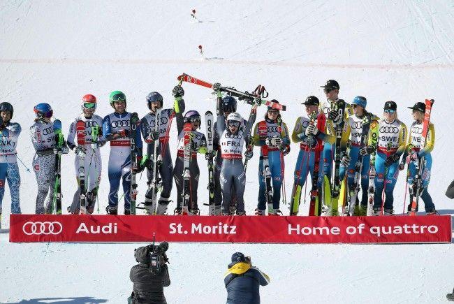 Frankreich sichert sich die Goldmedaille im Team-Bewerb.