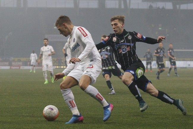 Sturm Graz musste sich gegen die Wiener Austria mit 4:0 geschlagen geben.