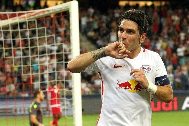 Jonathan Soriano dürfte sich aus Salzburg in Richtung China verabschieden.