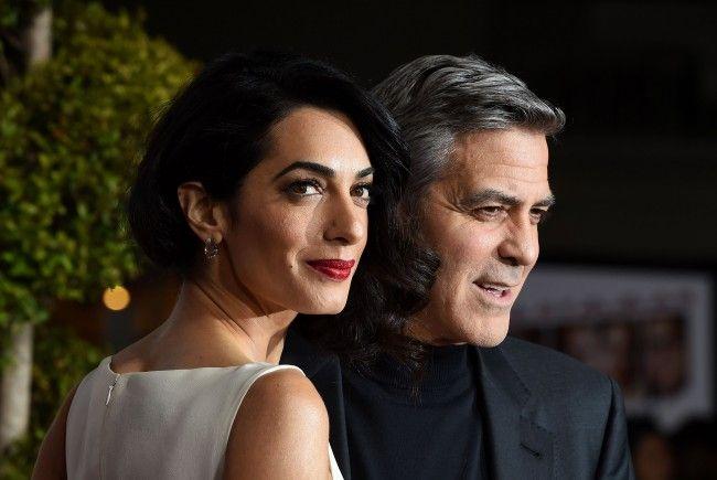 George und Amal Clooney sollen Zwillinge erwarten.