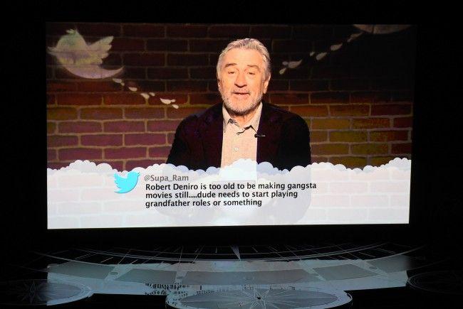 Robert de Niro antwortet auf Twitter-Posts