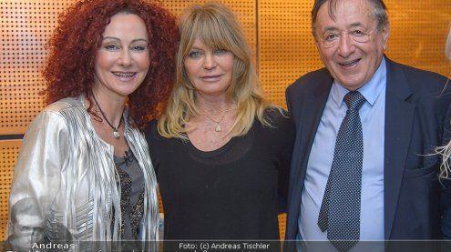 Goldie Hawn landete in Wien
