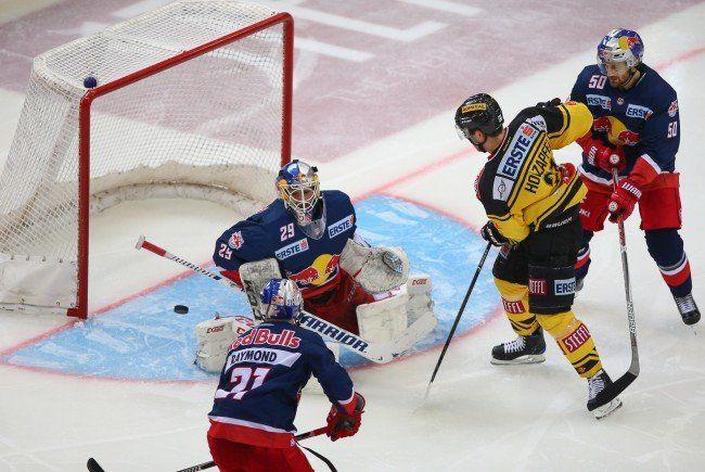 Die Vienna Capitals besiegten Red Bull Salzburg.