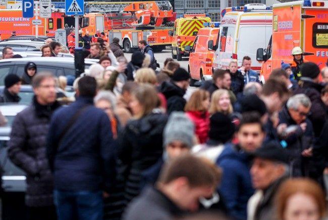Der Hamburger Flughafen wurde komplett gesperrt