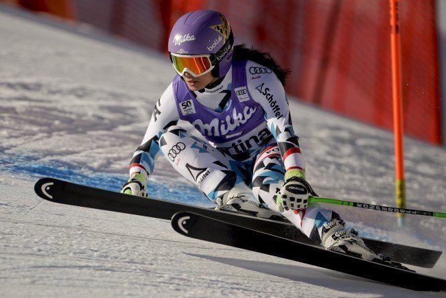 Anna Veith hofft auf ein gutes Ergebnis in St. Moritz.