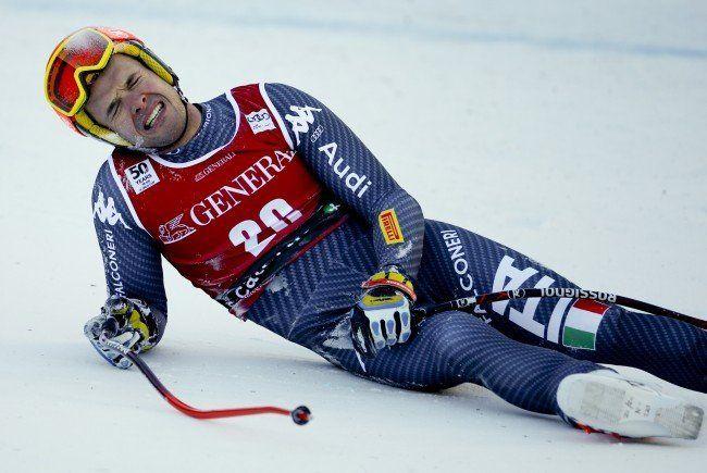 Christof Innerhofer verletzte sich in Santa Caterina schwer.