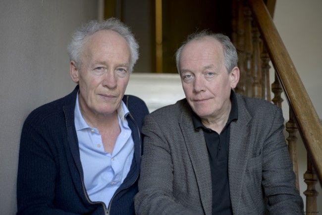 Regisseur Luc Dardenne (hier zusammen mit seinem Bruder Jean-Pierre) im Interview