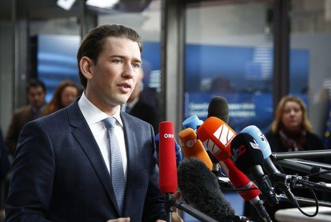 Außenminister Kurz zu Besuch am Westbalkan