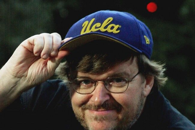 """Bowling for Columbine""-Regisseur Michael Moore attackierte George W. Bush"