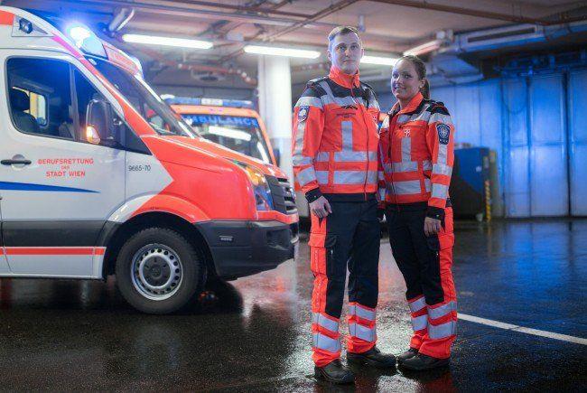 Neue Uniformen für die Wiener Berufsretter