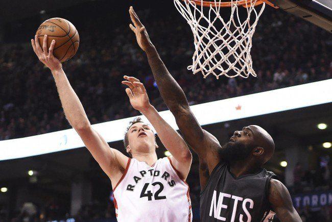 Die Raptors setzten sich gegen die Brooklyn Nets durch