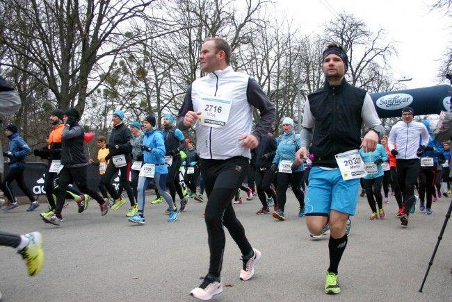 Nachbericht vom zweiten Bewerb der Vienna City Marathon Winterlaufserie 2017