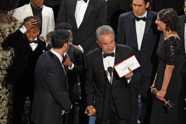 Warren Beatty sorgte für die Überraschung des Abends