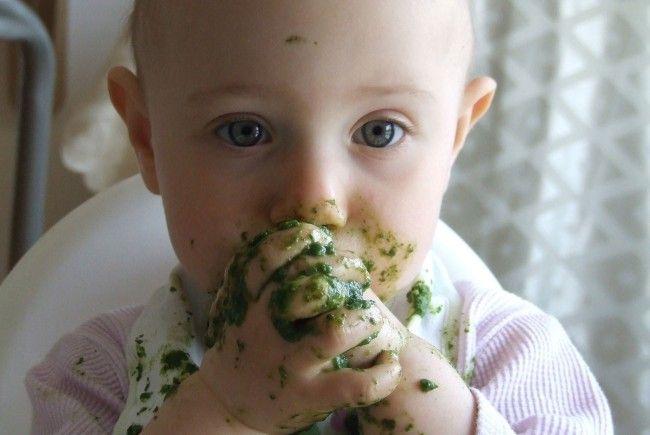 Spielend essen lernen mit Babys kann man in dem neuen Wiener Lokal