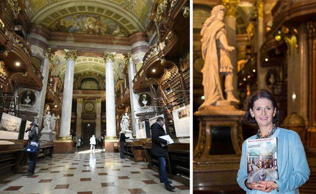 Zum Welttag der Fremdenführer in den Prunksaal der Österreichischen Nationalbibliothek und deren Museen