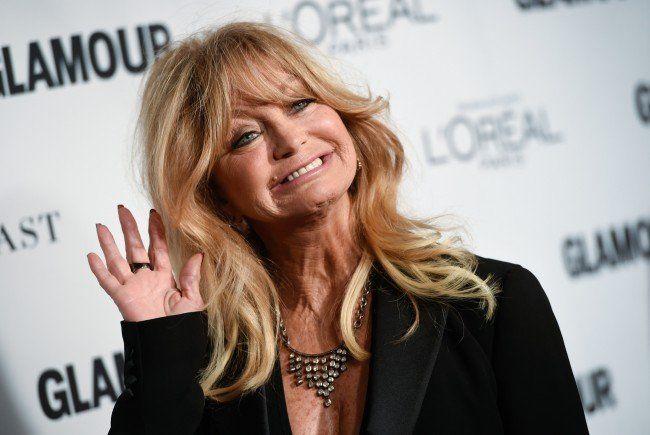Goldie Hawn reist vor ihrem Wien-Besuch nach London.