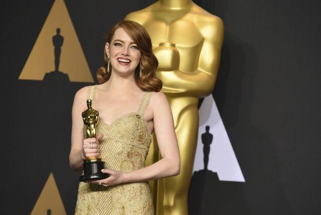 Emma Stone wurde mit ihrem ersten Oscar ausgezeichnet.