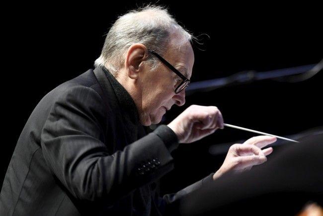 Ennio Morricone verzauberte bei seinem Konzert die Wiener Stadthalle.