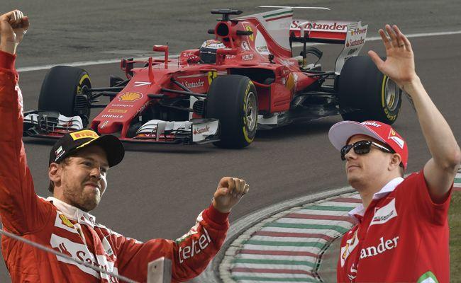 Mit diesem Boliden wollen Sebastian Vettel und Kimi Raikkonen in der kommenden Formel 1-Saison angreifen.