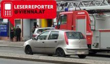 Feuerwehr-Einsatz wegen Rauch in Leopoldstadt