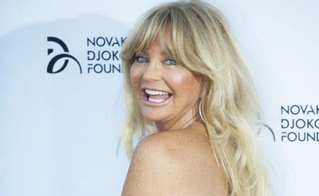 Goldie Hawn freut sich auf ihren Wien-Besuch.