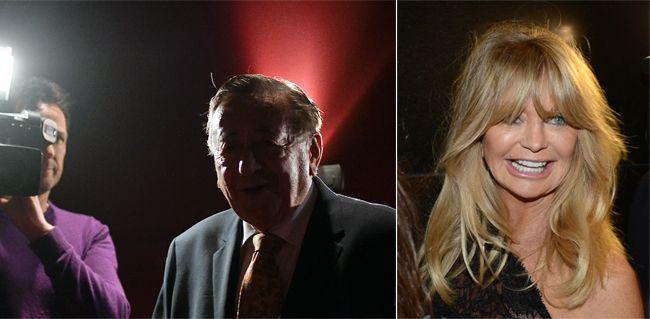 Live-Stream: Goldie Hawn gibt Pressekonferenz in der Wiener Lugner City.