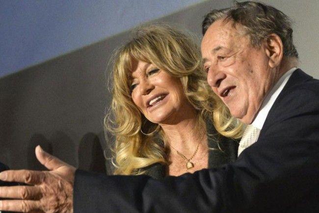 Zwei, die sich verstehen: Goldie Hawn und Richard Lugner.