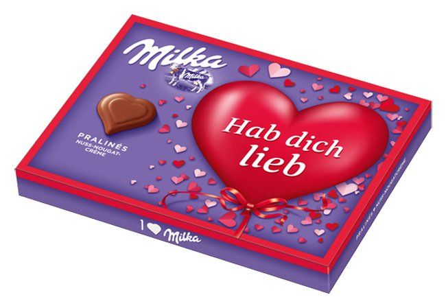 Love Is In The Air: Zarte Valentinstagsgrüße Mit Milka