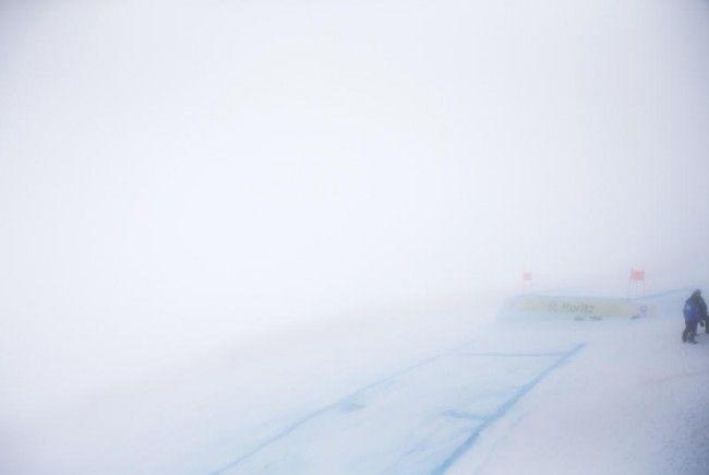 Der Nebel in St. Moritz war zu dicht